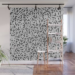 Learn the alfabet Wall Mural