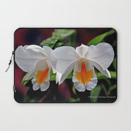 Cattleya Orchid Laptop Sleeve