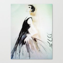 Isabellas Evening Gown Canvas Print