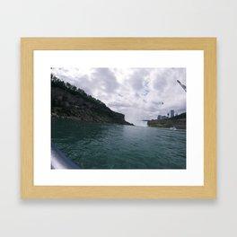 Niagara Clouds Framed Art Print