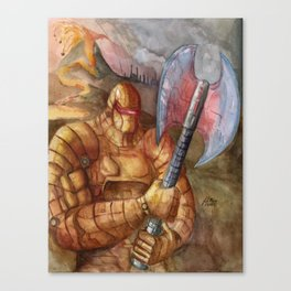 Pyro Guardian Canvas Print