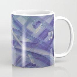 Blue coloured abstract acrylic painting Coffee Mug