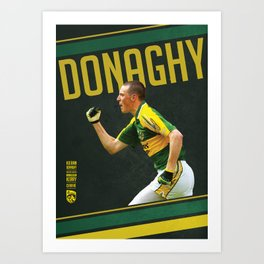 GAA Posters – Kieran Donaghy  Art Print