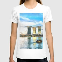 Hotel Marina Bay Sands and ArtScience Museum, Singapore T-shirt