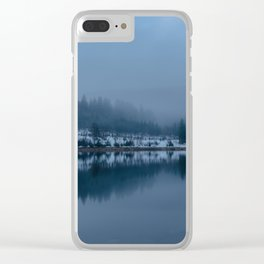 Reflections on a Lake - Landscape Photography Clear iPhone Case