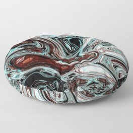 pouring emotions Floor Pillow