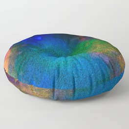 A Palette is a Spectrum Floor Pillow