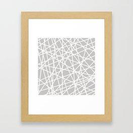 Lazer Dance Framed Art Print