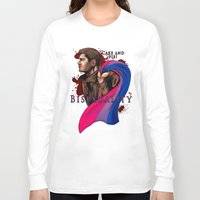 fandom Long Sleeve T-shirts featuring Fandom Pride : Bisexuality ( Dean Winchester) by Seraph Limonade