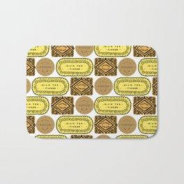 Biscuit Bricks Bath Mat