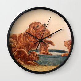 Bath Time Wall Clock