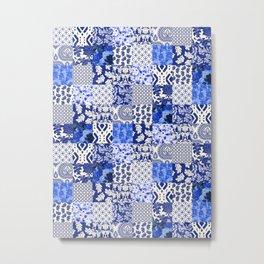 Blue Is Just A Mood Metal Print
