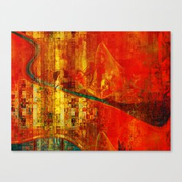 Tragan 10 Canvas Print
