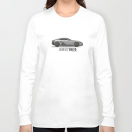 James Bond's Aston Martin DB10 from Spectre, The Movie Long Sleeve T-shirt