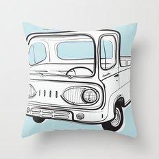 econoline pick-up Throw Pillow
