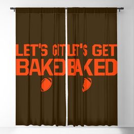 Let's Get Baked Blackout Curtain