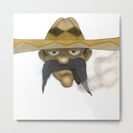 Mexican Way Metal Print