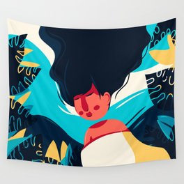 Women Dreaming Wall Tapestry