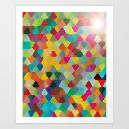Colors IV Art Print