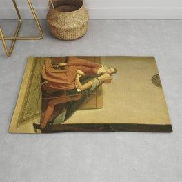 "Jean-Auguste-Dominique Ingres ""Francesca and Paolo (Francesca da Rimini and Paolo Malatesta)"" 2. Rug"