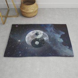 Yin Yang Moon Rug