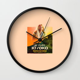 kiyoko tour Wall Clock