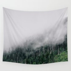 Misty Great Smoky National Park  Wall Tapestry