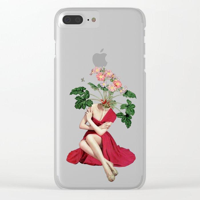 In Season Clear iPhone Case