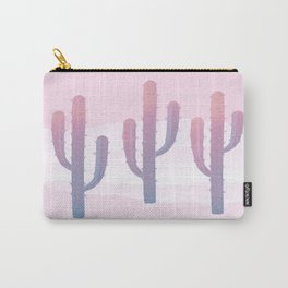 Dreamy Pastel Cacti Design Carry-All Pouch
