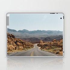 On the Desert Road Laptop & iPad Skin