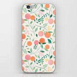 Vanilla Peaches iPhone Skin
