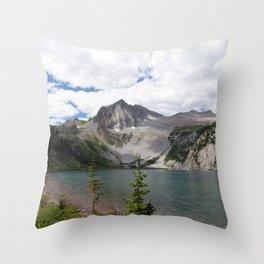 Snowmass Mountain, Colorado Throw Pillow