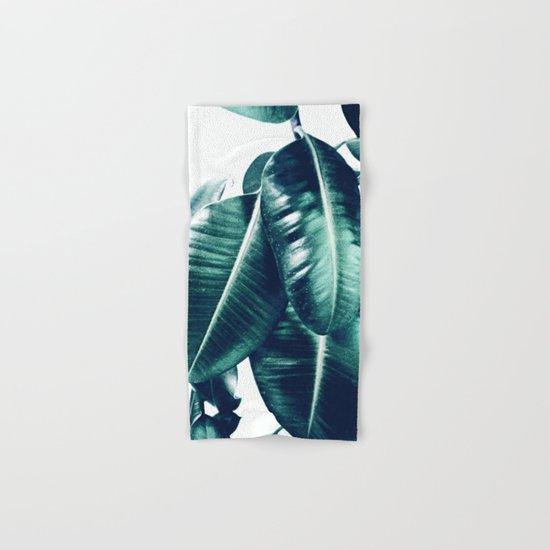 Ficus Elastica #1 Hand & Bath Towel