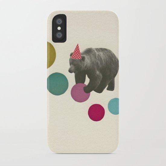 Birthday Bear iPhone Case