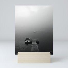 dreamy dock Mini Art Print