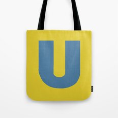 U is for... Tote Bag