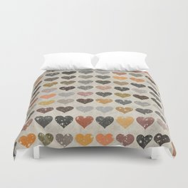 Hearts Duvet Cover