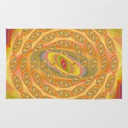 Hypnotic Eyes of the Sun Rug