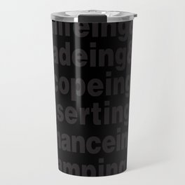 Experimental Hate Travel Mug