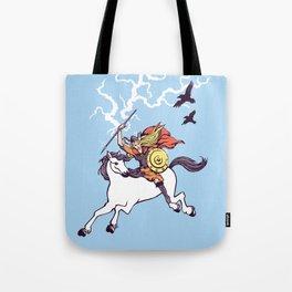 Shieldmaiden of Asgard Tote Bag