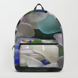 Sea Glass Assortment 6 Backpack