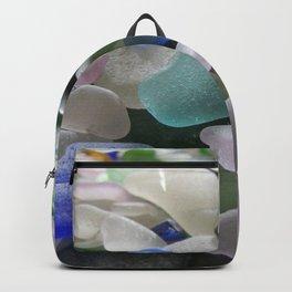 Sea Glass Assortment 6 Backpack
