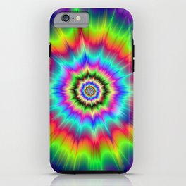 Psychedelic Explosion iPhone Case