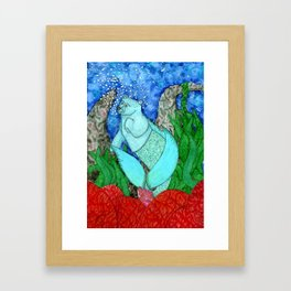 Merbear Framed Art Print
