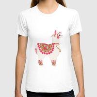 alpaca T-shirts featuring The Alpaca by haidishabrina