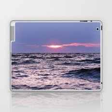 Water level Sunset Laptop & iPad Skin