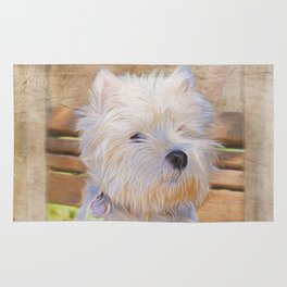 Dog Art - Just One Look Rug