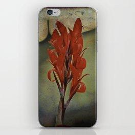 Churchyard Flower iPhone Skin