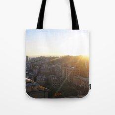 Tramonto a Genova 2 Tote Bag