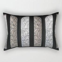 Birds in the Window  Rectangular Pillow